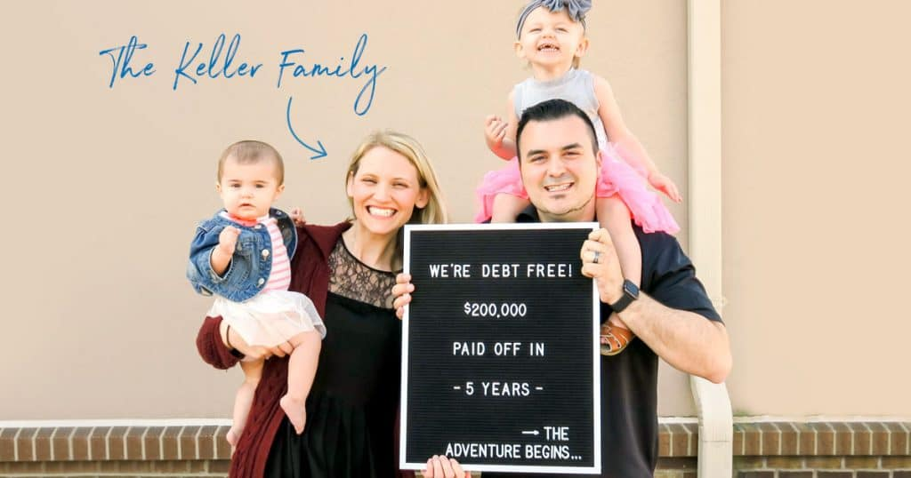 La famille Keller n'a plus de dettes et le fait savoir