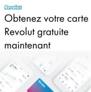 Revolut carte gratuite
