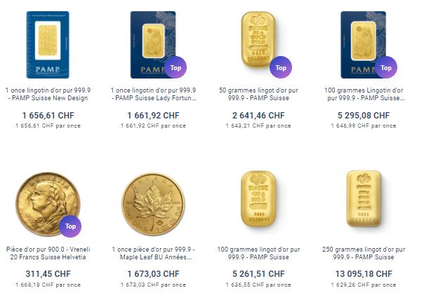 acheter de l'or sur goldavenue.com