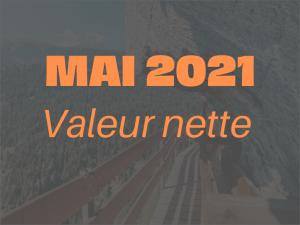 Valeur nette Mai 2021